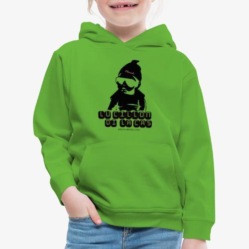 Lu Cillon di la Cas - Felpa con cappuccio Premium per bambini