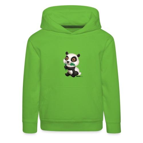 Panda - Kinderen trui Premium met capuchon