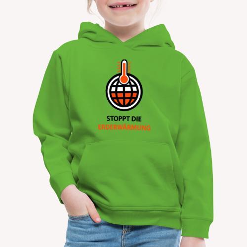 Erdeerwärmung stoppen - Kinder Premium Hoodie