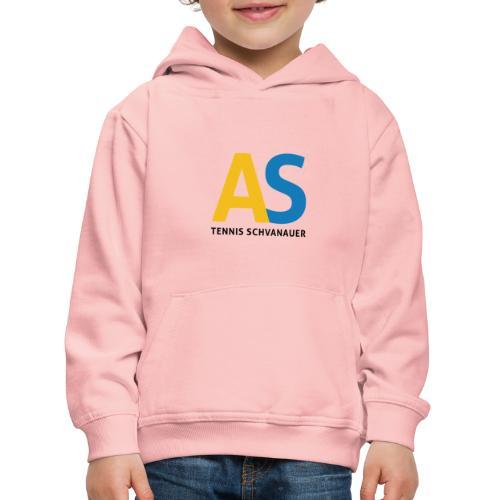 as logo - Felpa con cappuccio Premium per bambini