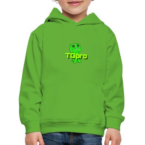 TGpro Creeper logo - Kids' Premium Hoodie