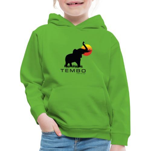 elephant - Tembo - Kinder Premium Hoodie