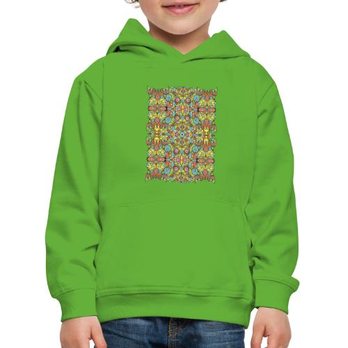 Weird creatures multiplying infinitely - Kids' Premium Hoodie