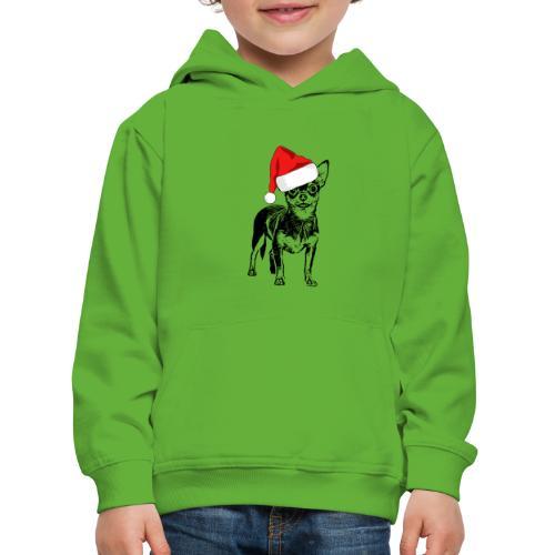 Weihnachten Chihuahua Hunde Geschenk Geschenkidee - Kinder Premium Hoodie