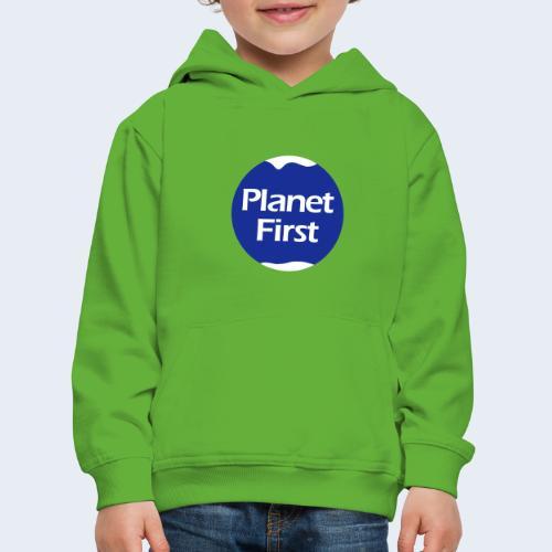 Planet First 2 - Kinderen trui Premium met capuchon