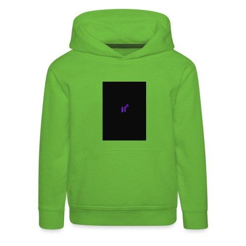 purple funky - Premium Barne-hettegenser