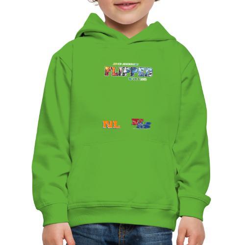 Flipped Racing, Do Some W / Logo - Kids' Premium Hoodie