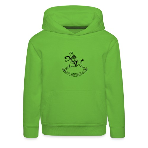 konik na biegunach - Bluza dziecięca z kapturem Premium
