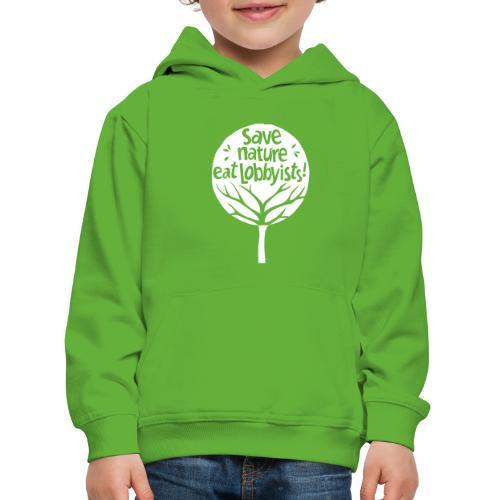 arbre - Pull à capuche Premium Enfant