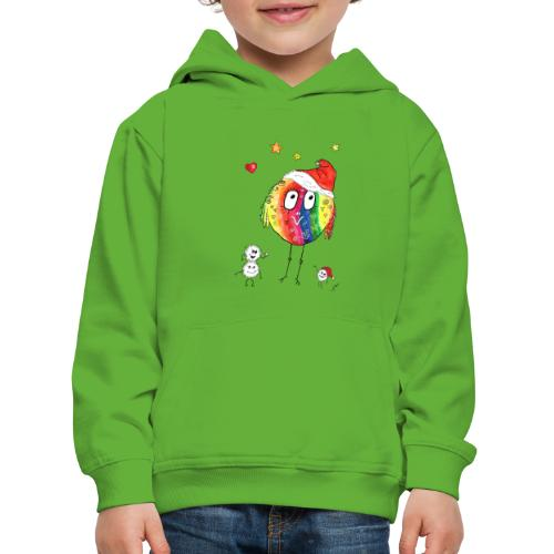 Happy Weihnachtskugelbird - Kinder Premium Hoodie
