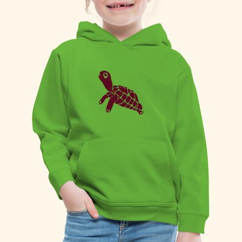 Schildi die Schildkröte - Kinder Premium Hoodie