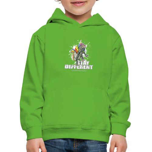 Stay Different - Imperial Unicorn - Kinder Premium Hoodie
