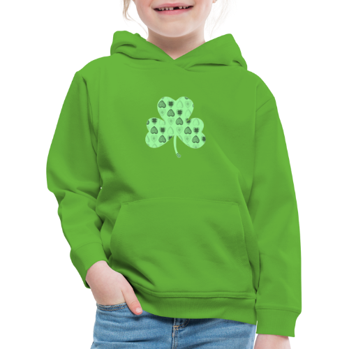 Glücksbringer Kleeblatt - Kids' Premium Hoodie