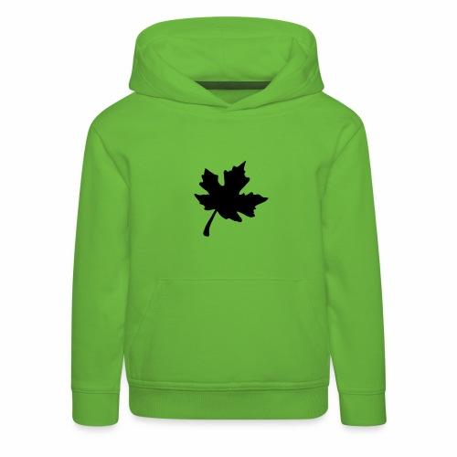 Ahorn Blatt - Kinder Premium Hoodie