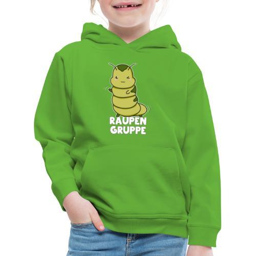 Raupen Gruppe Kindergarten - Kinder Premium Hoodie