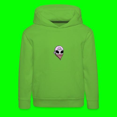 gangsta alien logo - Felpa con cappuccio Premium per bambini