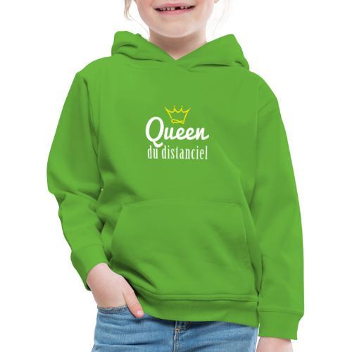 Queen du distanciel - Pull à capuche Premium Enfant