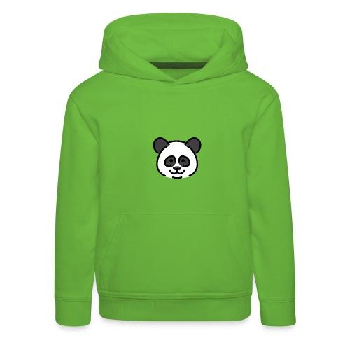 panda head / cabeza de panda - Sudadera con capucha premium niño