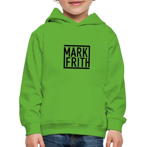 MARK FRITH Logo BLACK - Kids' Premium Hoodie
