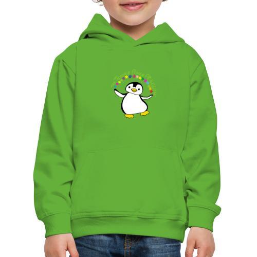 Pinguin Flower Power - Kinder Premium Hoodie
