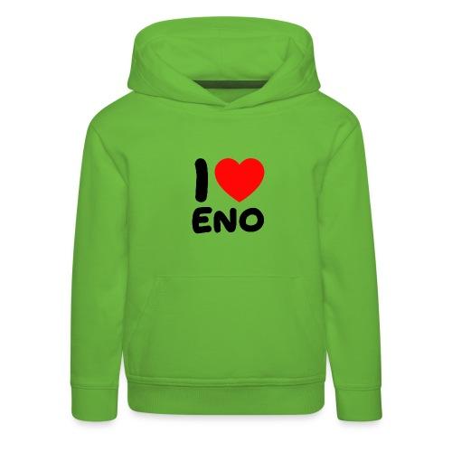 I love Eno / musta - Lasten premium huppari