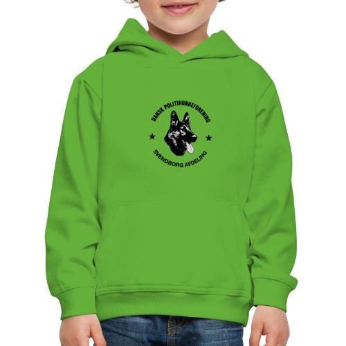 Svendborg ph sort - Premium hættetrøje til børn