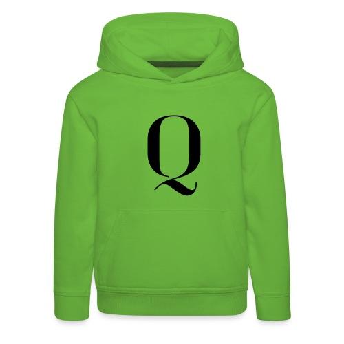 Q - Kids' Premium Hoodie