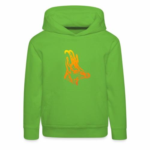 Gams Bock - Kinder Premium Hoodie