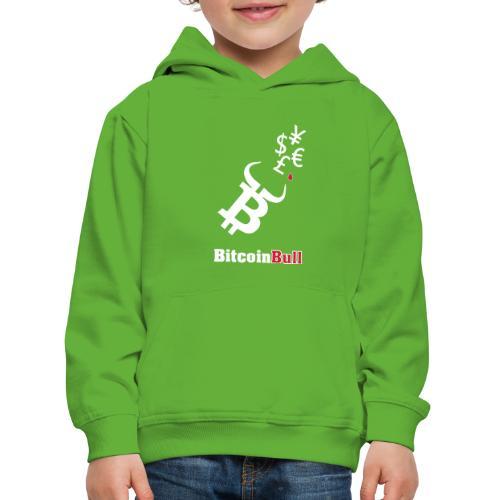 BitcoinBull - Sudadera con capucha premium niño