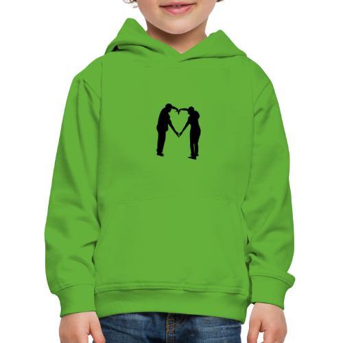 silhouette 3612778 1280 - Premium-Luvtröja barn