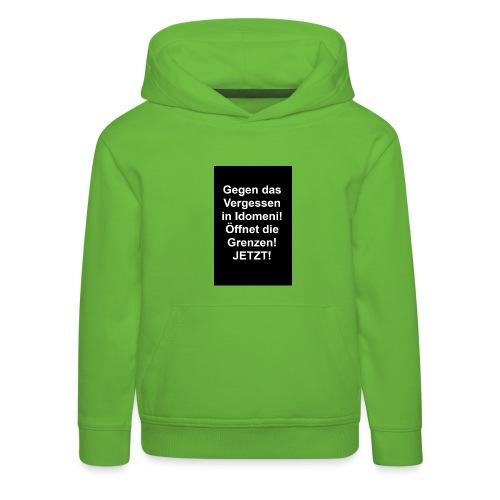 Gegen das Vergessen - Kinder Premium Hoodie