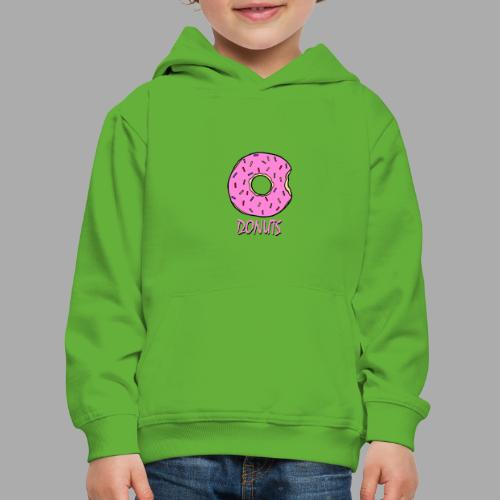 DONUTS - Sudadera con capucha premium niño