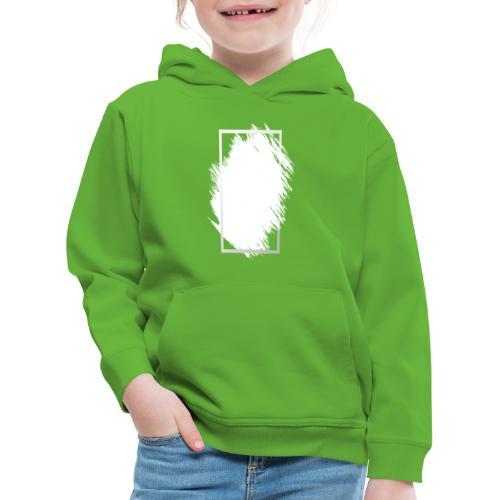 Grunge Rahmen fuer Deine Ideen 2 - Kinder Premium Hoodie