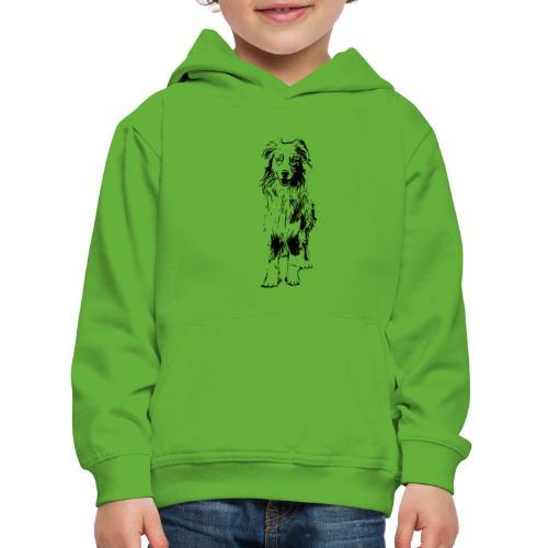 Aussie Australian Shepherd Design Hunde Geschenk - Kinder Premium Hoodie