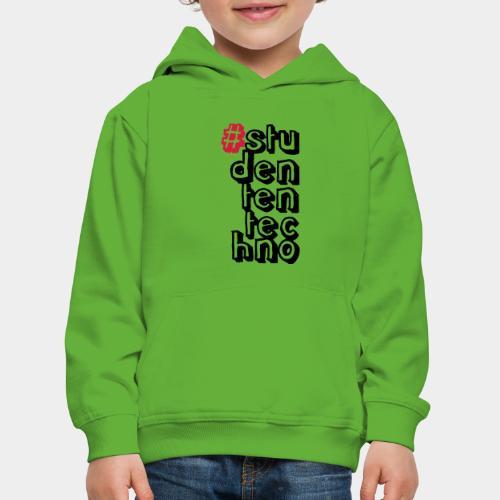 #studententechno (groß) - Kinder Premium Hoodie