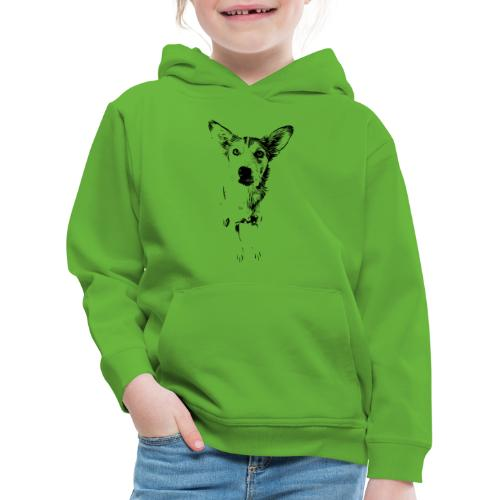 Podenco-Mischling / Hunde Design Geschenkidee - Kinder Premium Hoodie