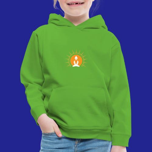 Guramylyfe logo white no text - Kids' Premium Hoodie
