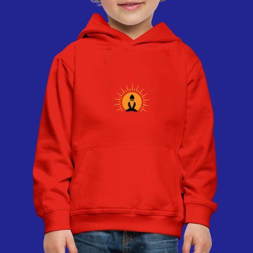Guramylife logo black - Kids' Premium Hoodie