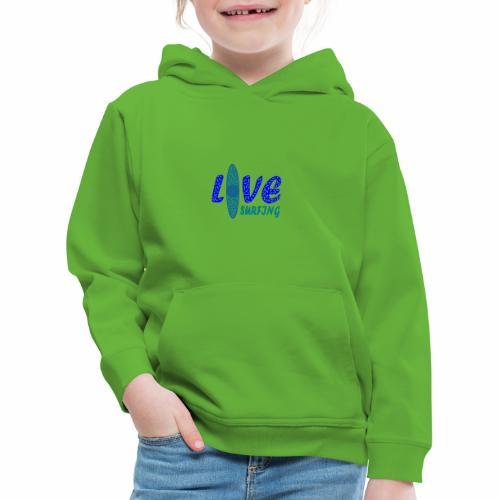 Love Surfing - Kinder Premium Hoodie