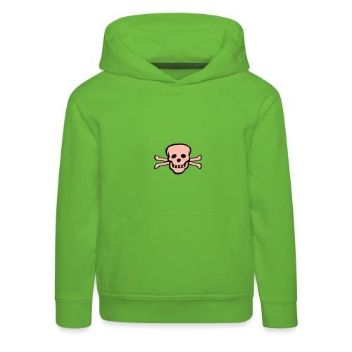 skull tattoo style - Kinder Premium Hoodie