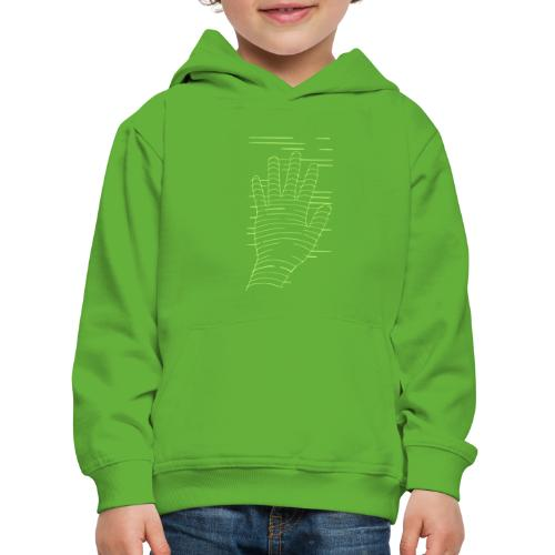 EigenHand gruen - Kinder Premium Hoodie