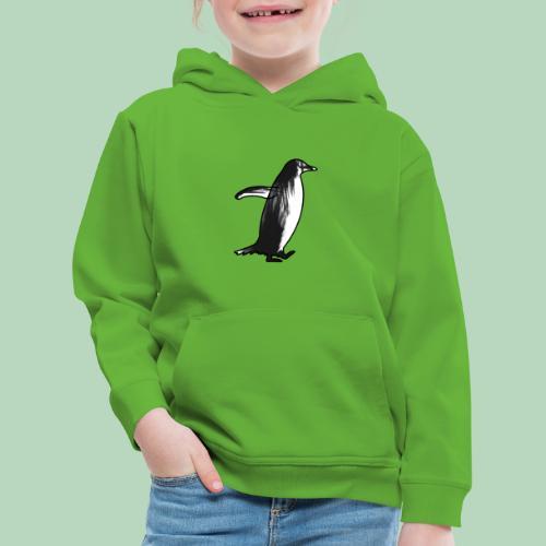 Penguin Penguïn (gentoo) - Kinderen trui Premium met capuchon