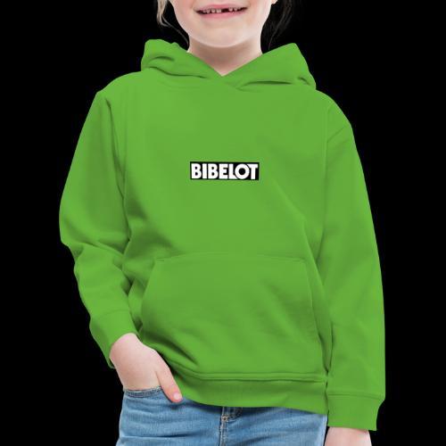 Bibelot Logo - Kinderen trui Premium met capuchon