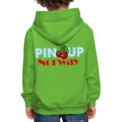 Pinup Norway Fan Club - Premium Barne-hettegenser