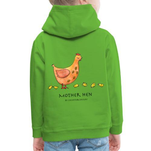 Maman poule - Pull à capuche Premium Enfant