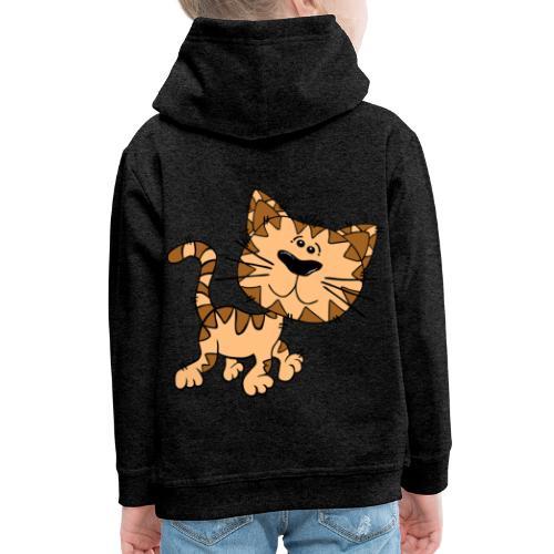 Cat - Kinder Premium Hoodie