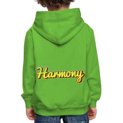 Harmony - Premium-Luvtröja barn