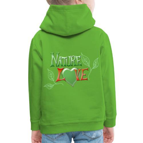 Nature Love - Kinder Premium Hoodie