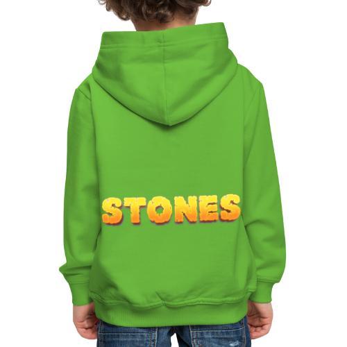 Stones - Premium-Luvtröja barn