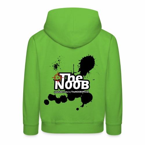 TheNOOB Official Logo Paint Splat! - Kids' Premium Hoodie